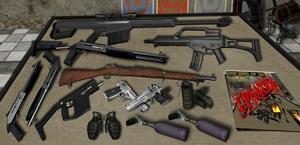 Оружие в GTA Vice City